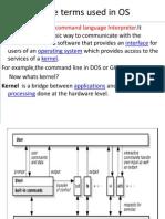 UNIX-Intro,Terms & Commands