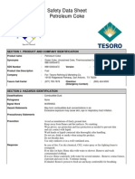 Safety Data Sheet - Petroleum Coke