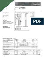 Diodo Doble Panasonic RFUS20 430v 20A