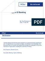 Types in Banking