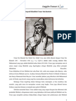 Biografi Khalifah Umar Bin Khattab