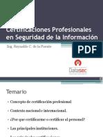 CertificacionesProfesionalesenSeguridaddelaInformacionl