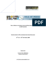 Role of Media in the Agricultural and Rural Development
