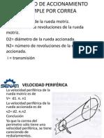 12-Calculo de Accionamiento Simple -Por Correa