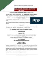 Ley Residuos Df