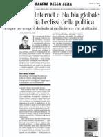 La dittatura del tempo sprecato (Claudio Magris)