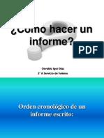 Hacer Un Informe