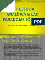 La Filosofa Analtica Las Paradojas Lgicas 1216237942405866 9