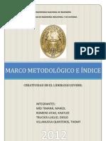 Marco teórico y concetual - Creatividad en el Liderazgo Juvenil