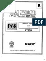 B. Inggris UN 2008-SMK