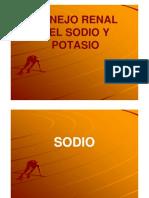 Manejo Renal Del Sodio y Potasio