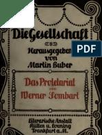 SOMBART Werner_Das Proletariat