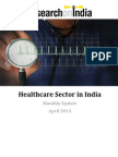 Healthcare Sector in India Monthly Update April 2013