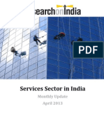 Services Sector in India Monthly Update April 2013