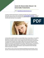 De Hemorroides Tratamiento