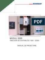 Manual de Proiectare Modul 3200 - Tablouri de Distributie