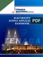 20099816 TNB Electricity Supply Application Handbook ESAH