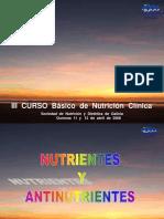 1. Nutrientes y Antinutrientes