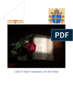 Papal Commentary on the Morining and Evening Psalms