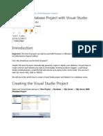 Creating DB