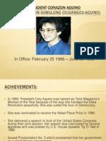 President Corazon Aquino