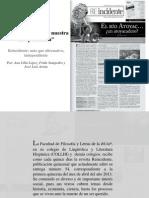 Entrevista Reincidente (2013)