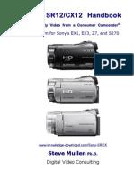 Sony SR-CX Handbook©