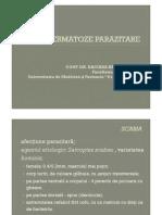 Dermatoze Parazitare Mg Nov 2010