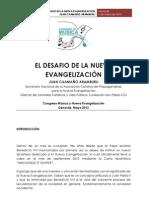 La Nueva Evangelizacion Congreso Genoves 4 Mayo 2013