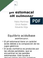 pH estomacal