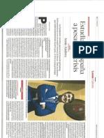 Entrevista en El Comercio 8 de Mayo
