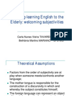 Teaching Learning English to the Elderly