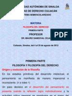 FILOSOFÍA DEL DERECHO-1a PARTE