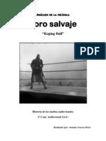 Analisis cinematográfico Toro Salvaje