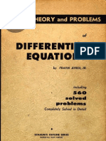 concept of base Ayres Differential Equations