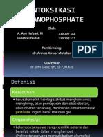 Intoksikasi onganofosfat, referat