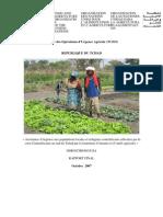 Service des Opérations d'Urgence Agricole (TCEO) REPUBLIQUE DU TCHAD (Octobre 2007)