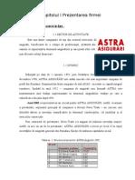 Proiect de Practica - Astra Asigurari