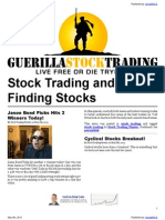 Stock Trading and Economic Analysis