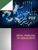 Social Problems of Adolescents