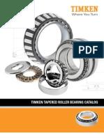 Tapered Roller Bearing Catalog