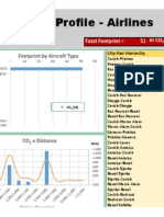 Aviation Carbon Footprint Profile Generator - Airlines (International) (Excel 2013)