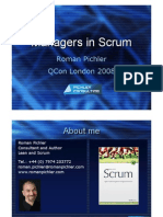 Managers in Scrum