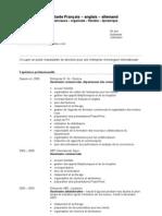 Modele CV Office FR