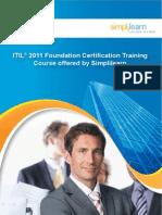 Corporate Brochure-ITIL 2011 Foundation