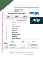 Tratamiento de No Conformidades, GGS-PS-05