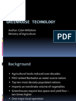 Greenhouse Technology Recent Research