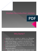 Starters for Induction Motors