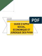 GUIDE D'APPUI SOCIAL, ECONOMIQUE ET JURIDIQUE DES PVVIH--TCHAD, FOSAP (2007)