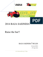 Rule Book Baja Saeindia-2014